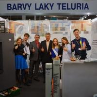 «Вартекс Украина» и «Barvy a Laky Teluria» на Экспофоруме