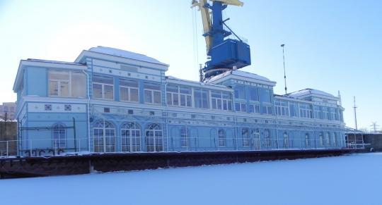 Ресторан на воде (г. Киев)